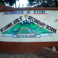 Sub County Secondary Schools in Nyeri County; School KNEC Code, Type, Cluster, and Category