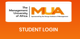 How to Log in to Management University of Africa Students Portal online, for Registration, E-Learning, Hostel Booking, Fees, Courses and Exam Results