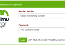 Mwalimu National SACCO website, Members Portal Login; https://membersportal.mwalimunational.coop:82/Login