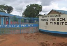 Primary schools in Kakamega County; School name, Sub County location, number of Learners