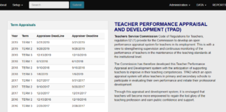 TSC sets deadline for filling 2019 term 3 TPAD data online by teachers; How to fill Teachers' Appraisal form online, deadline for Appraiser and Appraisee data