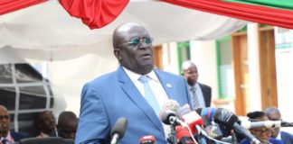 """Here is the Speech by the Education Cabinet Secretary Professor George Magoha during the release of the 2019 Kenya Certificate of Primary Education (KCPE) results on Monday November 18, 2019; """"STATEMENT ON RELEASE OF THE 2019 KCPE EXAMINATION RESULTS BY PROF GEORGE MAGOHA, CABINET SECRETARY, MINISTRY OF EDUCATION, NOVEMBER 18TH, 2019 AT THE KENYA NATIONAL EXAMINATIONS COUNCIL OFFICES I sincerely welcome you all to this important occasion when we are releasing the 2019 Kenya Certificate of Primary Education (KCPE) examination results. I feel proud that we have managed to have the results ready just 17 days after the 1,083,456 candidates sat the examinations. I wish to sincerely thank everyone – the examination officials, examiners, monitors and the backroom staff at the Kenya National Examinations Council (KNEC) - who has made this exercise possible. It is proof that with commitment, Government officials can deliver world-class services. This marked the fourth year since we started administering the national examinations under a stricter regime anchored on the Multi-Agency Coordination Team. I wish to state that the Team's commander is the Head of State, His Excellency President Uhuru Kenyatta himself. I am proud to lead the Education Ministry on his behalf. We are here at this function after he gave us the blessings to release the 2019 KCPE results earlier today. On my own behalf and that of the Ministry, I commend the entire Multi-Agency Coordination Team comprising the Ministry of Education, Interior and ICT for executing an outstanding exercise of the 2019 KCPE administration again. I also thank our teachers led by our dear sister Dr. Nancy Macharia of the Teachers Service Commission and the Kenya National Examinations Council under the chairmanship of Dr John Onsati and CEO Mercy Karogo. This team was instrumental in the setting, monitoring and examining processes. I cannot forget the KCPE class of 2019. All the candidates worked hard and they have all won. I ca"""
