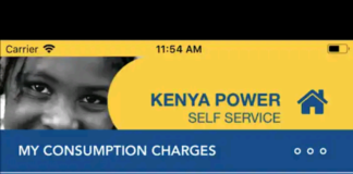 KPLC Self Service App. Available at Play store.
