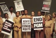 Stop Female Genital Mutilation, FGM, Campaign.