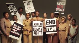 Stop Female Genital Mutilation, FGM, Campaign.