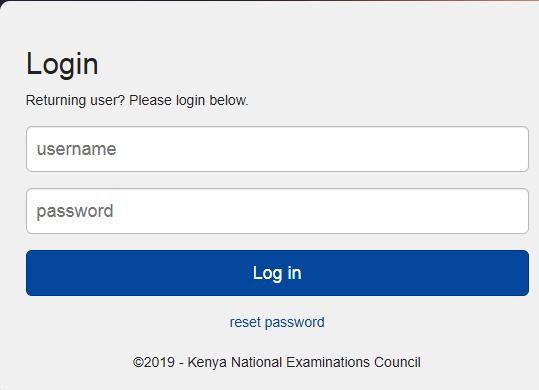 The KNEC Examiners Portal Login; https://examinersapp.knec.ac.ke/Account/LogOn?ReturnUrl=%2f