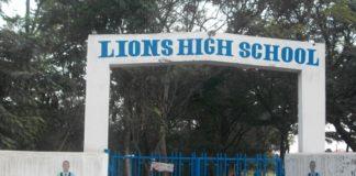 Lions High School in Kisumu County.