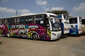 Modern Coast Buses. The buses have resumed operations after getting clearance from the NTSA.