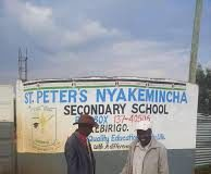 St Peters Nyakemincha is one of the top performing secondary school; not only in Nyamira County but also nationally. This article provides complete information about this school. Get to know the school's physical location, directions, contacts, history, Form one selection criteria and analysis of its performance in the Kenya Certificate of Secondary Education, KCSE, exams. Get to see a beautiful collation of images from the school's scenery; including structures, signage, students, teachers and many more. For all details about other schools in Kenya, please visit the link below; SCHOOLS' NEWS PORTAL NYAKEMINCHA SECONDARY SCHOOL'S PHYSICAL LOCATION St. Peter Nyakemincha Secondary School is located in Bonyamatuta location, Nyamira Division, Nyamira South Subcounty within Nyamira County; in the Nyanza Region of Kenya. It is a mixed day and boarding secondary school. NYAKEMINCHA SECONDARY SCHOOL'S INFO AT A GLANCE SCHOOL'S NAME: St Peters Nyakemincha Secondary School SCHOOL'S TYPE: Mixed Day and Boarding SCHOOL'S CATEGORY: County School SCHOOL'S LEVEL: Secondary SCHOOL'S LOCATION: located in Bonyamatuta location, Nyamira Division, Nyamira South Subcounty within Nyamira County; in the Nyanza Region of Kenya. SCHOOL'S KNEC CODE: SCHOOL'S OWNERSHIP STATUS: Public SCHOOL'S PHONE CONTACT: 0734754087 SCHOOL'S POSTAL ADDRESS: P.O. Box 137-40200, Kebirigo SCHOOL'S EMAIL ADDRESS: SCHOOL'S WEBSITE: NYAKEMINCHA SECONDARY SCHOOL'S BRIEF HISTORY FOR A COMPLETE GUIDE TO ALL SCHOOLS IN KENYA CLICK ON THE LINK BELOW; SCHOOLS' NEWS PORTAL Here are links to the most important news portals: KUCCPS News Portal TSC News Portal Universities and Colleges News Portal Helb News Portal KNEC News Portal KSSSA News Portal Schools News Portal Free Teaching Resources and Revision Materials NYAKEMINCHA SECONDARY SCHOOL'S VISION NYAKEMINCHA SECONDARY SCHOOL'S MISSION NYAKEMINCHA SECONDARY SCHOOL'S MOTTO NYAKEMINCHA SECONDARY SCHOOL'S CONTACTS In need of more information about the school? Worry not. Us