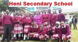 Heni Secondary School in Kinangop, Nyandarua County; KCSE results and ranking.