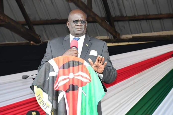 Education CS Prof George Magoha at a past function.