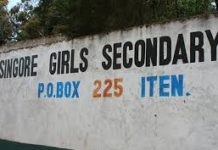 Sing'ore Girls High School; KCSE Performance, Location, Contacts and Admissions