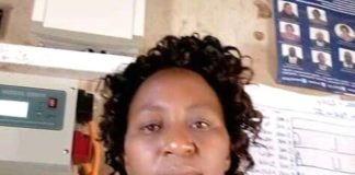 The late Madam Daisy Mbathe Mbaluka, a teacher at Ndooni Primary School, Endau Zone, Mutitu Sub-county, Kitui County. The late madam Daisy was burnt to death by parents.