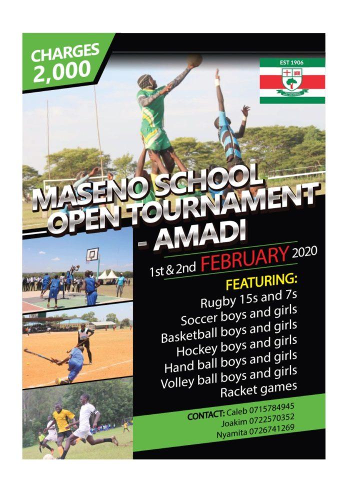 The Maseno School Annual Open Tournament.