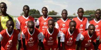 Barding High School's Soccer Under 19 team. Photo/ File.