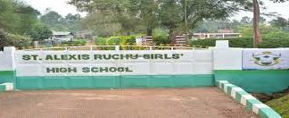 St Alexis Ruchu Girls high school