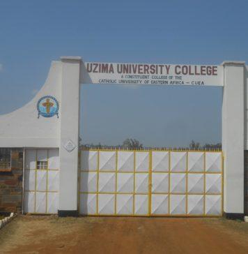 Uzima University student admission letter and KUCCPS admission list pdf download.