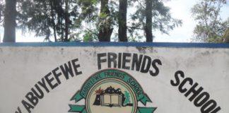 KABUYEFWE FRIENDS GIRLS SECONDARY SCHOOL