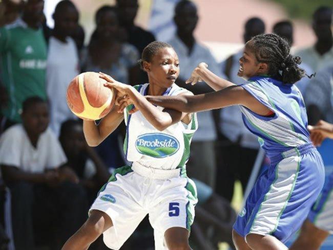 A Girls' basketball match at the 2018 KSSSA National Term One Games.