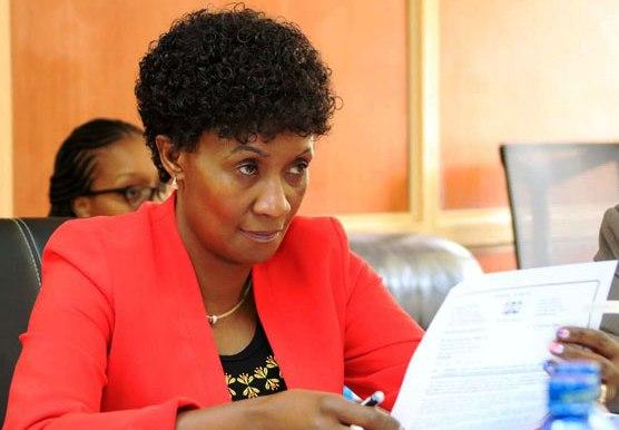 TSC Chief Executive Officer Dr. Nancy Macharia.