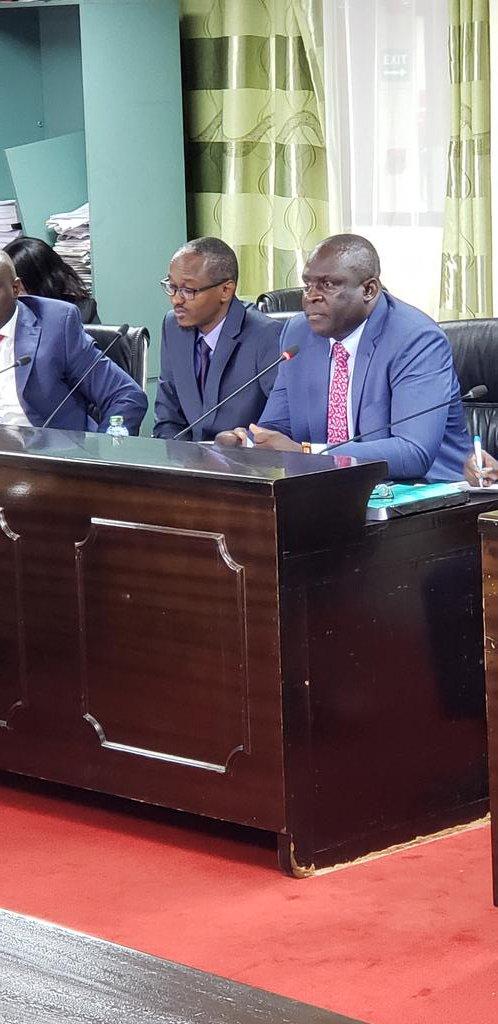 Hon. Omboko Milemba MP Emuhaya and KUPPET National Chair.