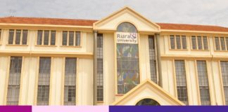 Riara University student admission letter and KUCCPS pdf list download.