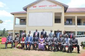 Bomet University College (BUC) student's admission letter and KUCCPS pdf list download.