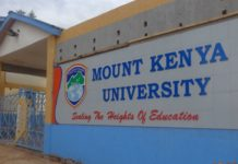 Mount Kenya University, MKU.