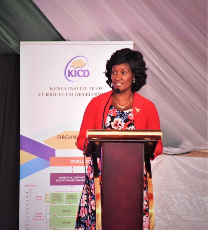 TSC CEO Dr Nancy Macharia