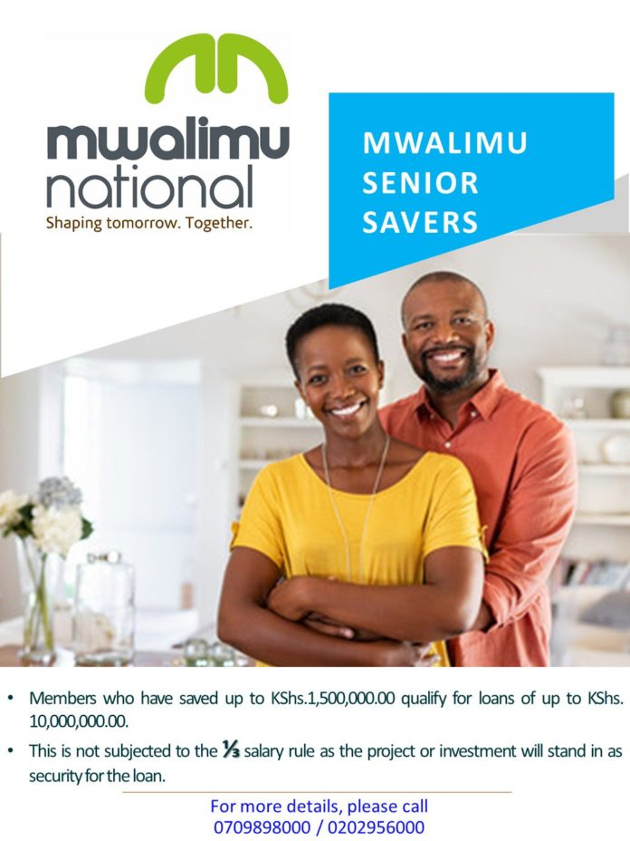 Mwalimu Nationa Sacco products and Services