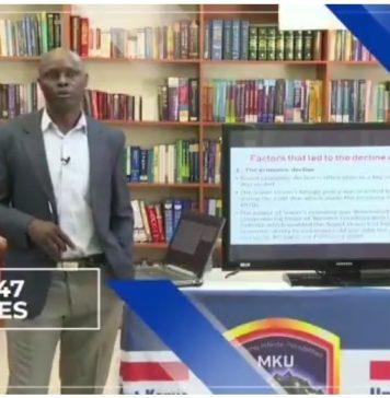 Mount Kenya University, MKU, Online Lectures and Learning platforms