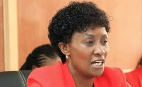 TSC Boss Dr. Nancy Macharia at a past event.