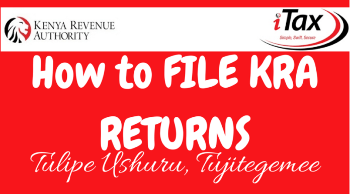 Filing the 2020 KRA returns online.