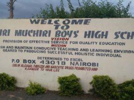 Muhuri muchiri high school