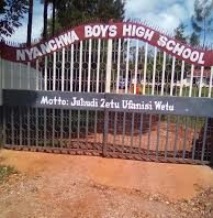 Nyanchwa Boys High School which is one the Covid-19 isolation centre in Kisii County.
