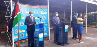 More corona virus cases recorded in Kenya.