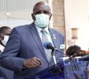 CS MAGOHA speaks after receiving an interim report of the National cOVID-19 Education Response Committee at the KICD offices in Nairobi.
