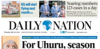Daily nation newspaper. Teachers will receive a free copy of Nation media group's newspapers for a period of one month.