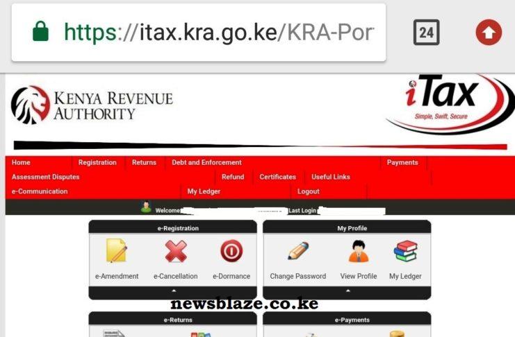 How to file KRA nil returns through KRA iTax portal https://itax.kra.go.ke/KRA-Portal.