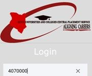 THE KUCCPS STUDENT MOBILE APP.