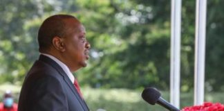 President Uhuru Kenyatta during this year's Madaraka Day celebrations. The president has asked the ministry of education to fast track the reopening of schools.