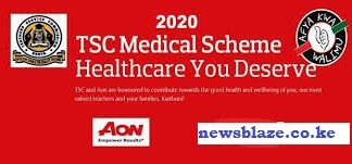 TSC AON MEDICAL COVER FOR TEACHERS. FULL DETAILS ON THE AON MEDICAL SCHEME.
