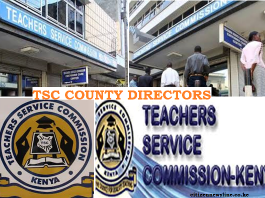 TSC County Directors.