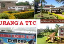 Murang'a Teachers College.