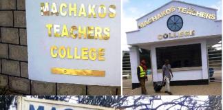 Machakos Teachers' College.