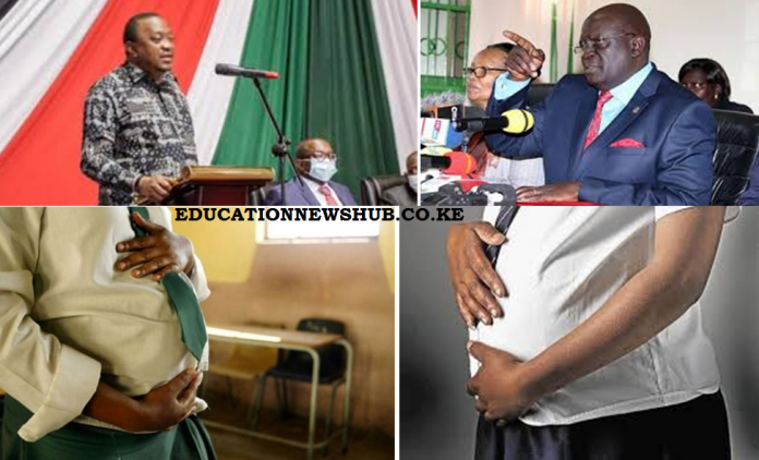 Thousands of school girls said to be pregnant as CS Magoha orders for data collection.