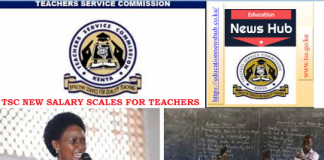New Salary Scales for Teachers after TSC implemented the final phase of the CBA.