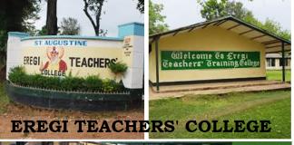 Eregi Teachers' College guide.