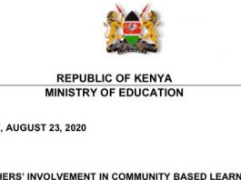 Latest news on CBL programme in Kenya.