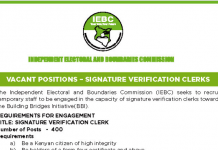Latest IEBC jobs.